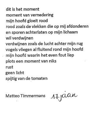 Een Avond Vol Gedichten Stella Matutina
